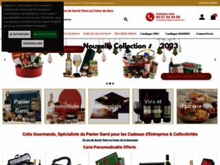 Détails : Colis Gourmands, paniers gastronomiques