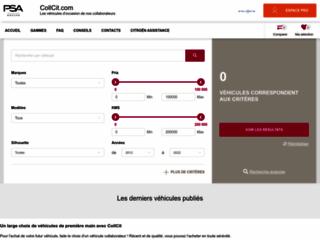 Détails : C-Crosser Diesel Collaborateur - Citroën Collcit