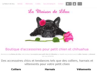 Harnais pour chihuahua et petit chien : La Maison de Lilou