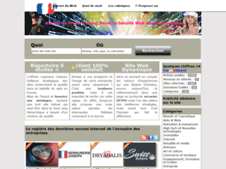Détails : Annuaire web Colonel, Votez pour un référencement de qualité