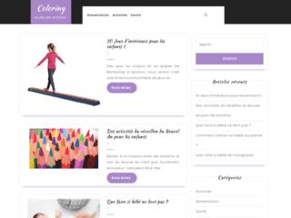 Coloring, le meilleur site consacré aux enfants