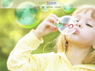Détails : com3pom - création de sites internet