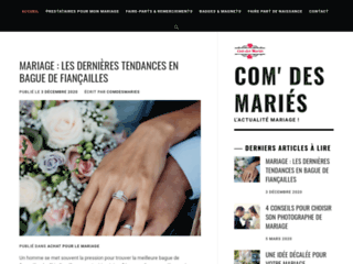 Détails : Com des mariés : designer de mariage