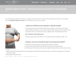 Chirurgie obésité en Tunisie