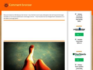 CommentBronzer.fr