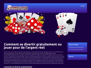 Détails : Votre guide pour jouer au casino