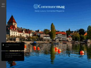 Détails : Magazine lifestyle suisse