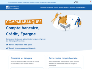 Détails : Comparabanques, comparateur de banques en ligne