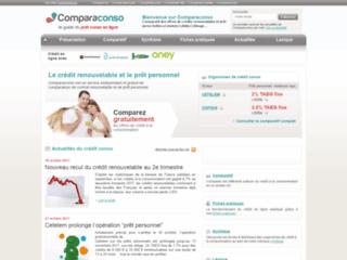 Détails : Comparaconso : comparateur crédits en ligne