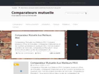 Détails : Comparateur mutuelle