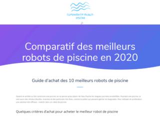 Le comparatif des robots de piscine