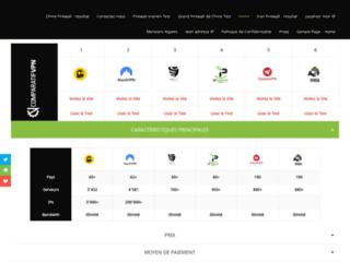 Le comparatif en ligne des meilleurs VPN