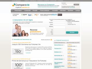 Assurance vie en ligne - Comparavie