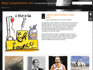 Comparsports : Le blog
