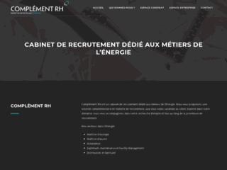 Détails : Cabinet de conseil et recrutement en BTP et Energies : Complément RH