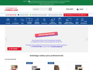 Détails : Le Comptoir de l'Emballage, emballage cadeau pour professionnels