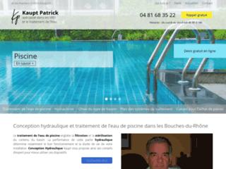 Conseil en conception hydraulique de piscine, bassin et local technique