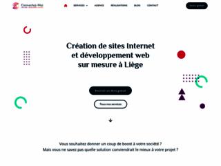 Détails : Création de site Internet Liège | Connectez-Moi