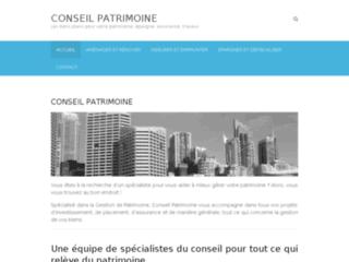 Détails : Conseil patrimoine, l'assurance d'un rendement performant
