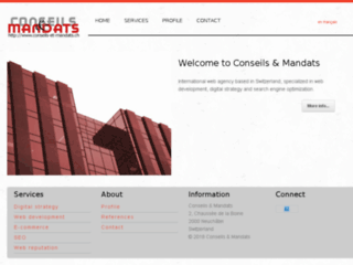 Détails : Création de sites internet