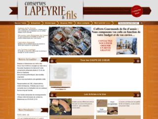 Détails : Conserves Lapeyrie et fils
