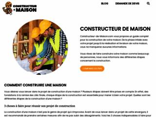 Détails : Les Maisons d'Aujourd'hui : constructeur de maison