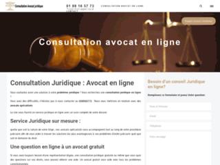 Détails : consultation juridique