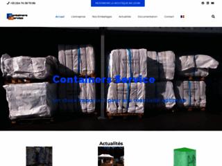 Détails : Containers Service, spécialiste du big bag