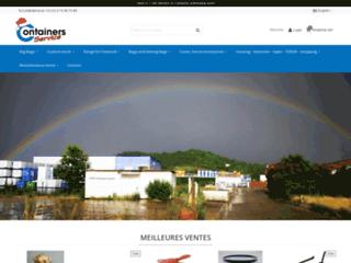 Détails : Big bag réutilisable