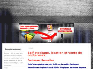 Détails : Conteneur Roussillon, location et vente de conteneurs