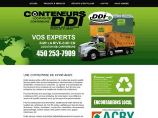Détails : Conteneur DDI, location de conteneurs