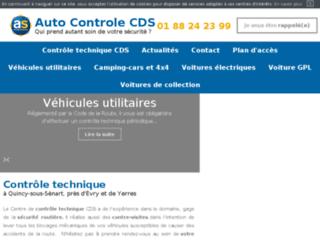 Détails : Auto Contrôle CDS