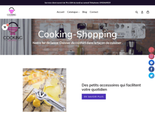 COOKING-SHOPPING