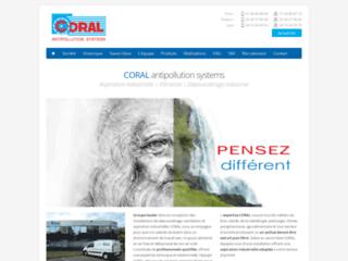 Le Groupe Coral SA pour l'antipollution
