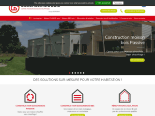 Constructeur de maisons en bois