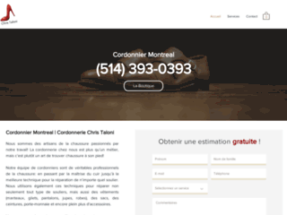 Détails : Cordonnier Montreal