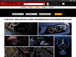 Côté-Auto, site de vente en ligne de pièces auto carrosserie.