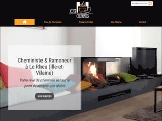 Côté Cheminées, chauffagiste et ramoneur à Le Rheu