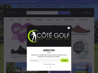 Détails : Magasin de golf