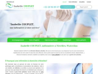 Isabelle COUPLET, infirmière à Nivelles, Waterloo
