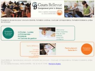 Détails : Cours Bellevue : Prestations de services pour concours