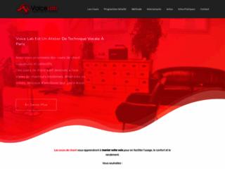 Détails : Voicelab, cours de chant à Paris
