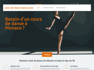 Détails : Avoir des cours de danse sur Monaco