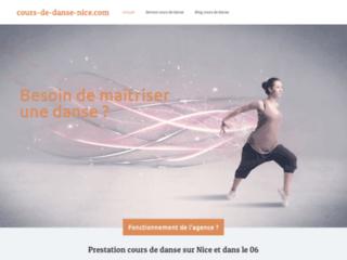 Service de danse à Nice