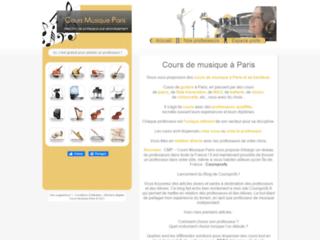 Cours de piano, cours de guitare, musique à domicile - Paris