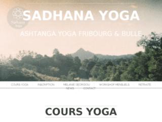 Sadhana Yoga Fribourg: découvrez le yoga