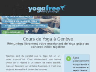 Détails : Yogafree Genève