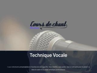 Détails : Cours de chant Bordeaux