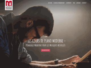 Détails : Les Cours de Piano Moderne