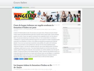 Détails : Cours italien